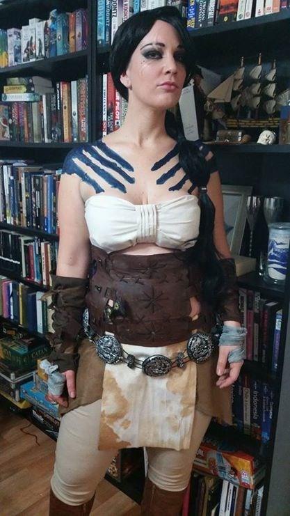 cosplay Game of Thrones gender bender Khal Drogo - 8257139200