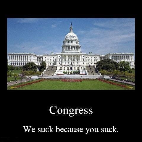 i heard that Congress demotivational - 8257348352
