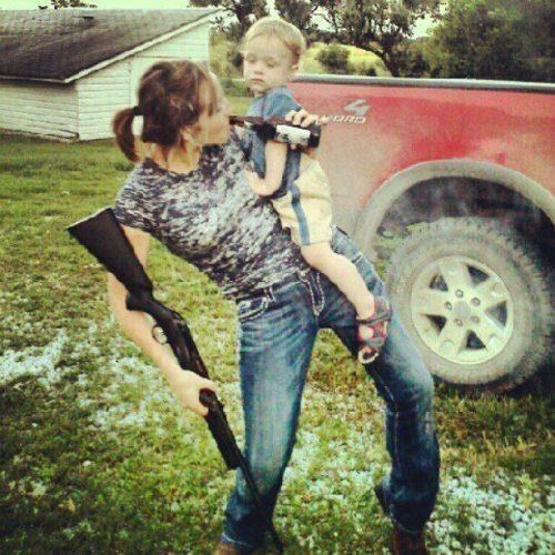guns beer Multitasking parenting - 8257373440