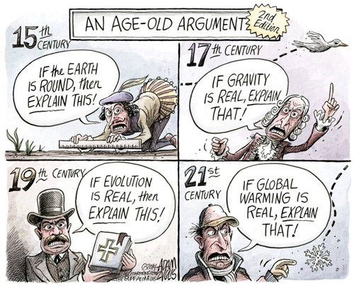 climate change science idiots web comics