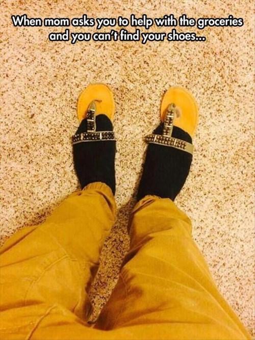 mom poorly dressed sandals - 8257484288