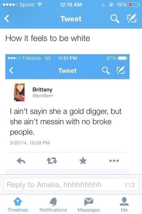 gold digger kanye west twitter - 8257488384