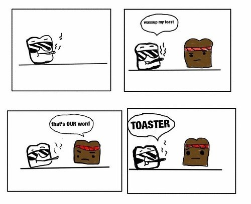 racism toaster toast web comics - 8257498368