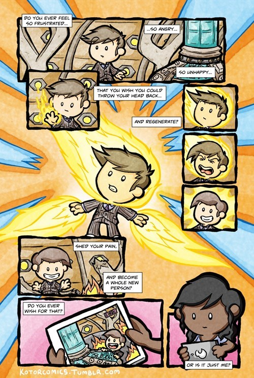 doctor who regeneration web comics - 8257509120