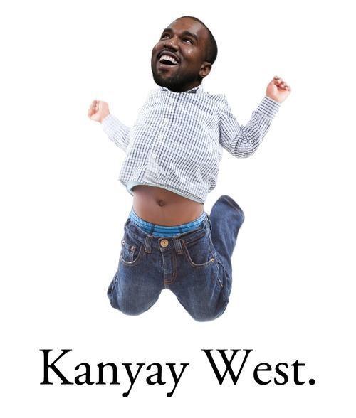photoshop funny kanye west - 8257514752