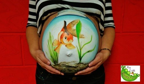 pregnancy,art,parenting,painting