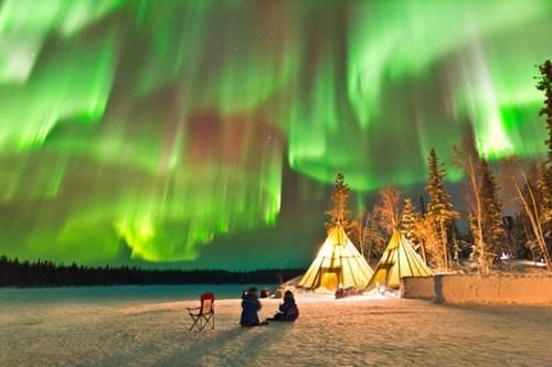 aurora borealis pretty colors mother nature ftw - 8257640960