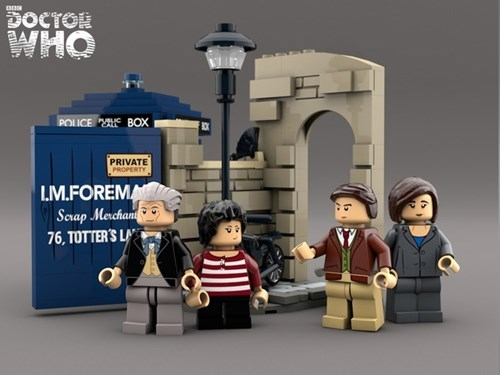 doctor who lego classic who 1st doctor - 8257653248