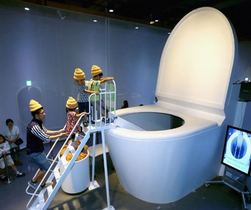bathroom,design,toilet,museum