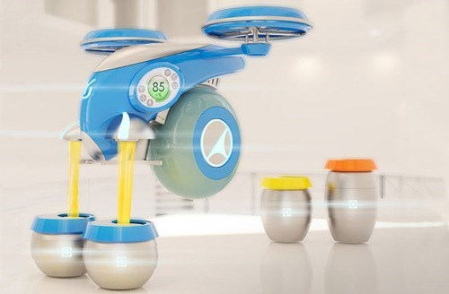 drink drones funny refill - 8257664512