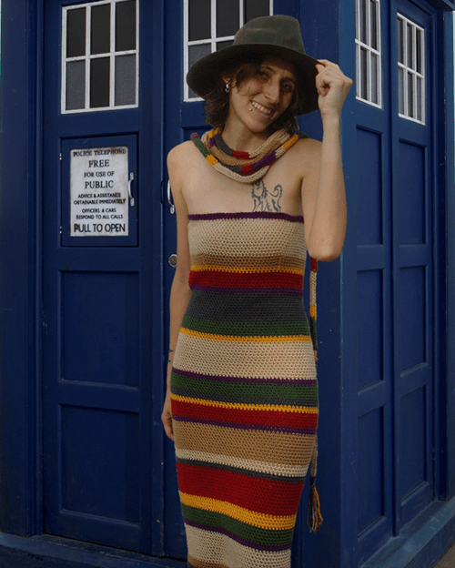 4th doctor dress scarf - 8257669376