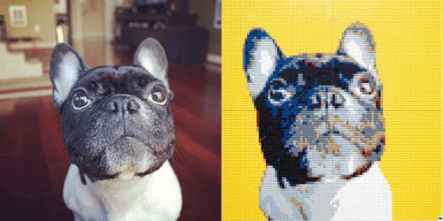 dogs lego portrait nerdgasm - 8257722368