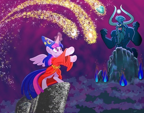 Fantasia twilight sparkle tirek - 8258444288