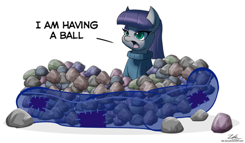 rocks pinkie pie Party maud pie - 8258446336