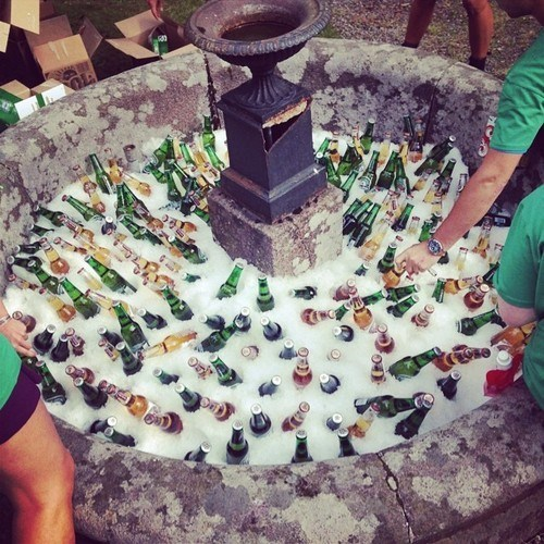 beer awesome fountain funny - 8258520576