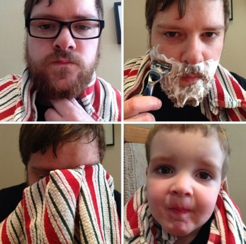 beards,shaving