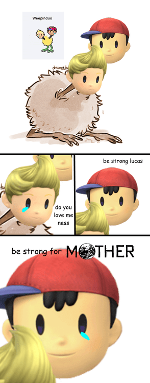 earthbound ness super smash bros mother lucas