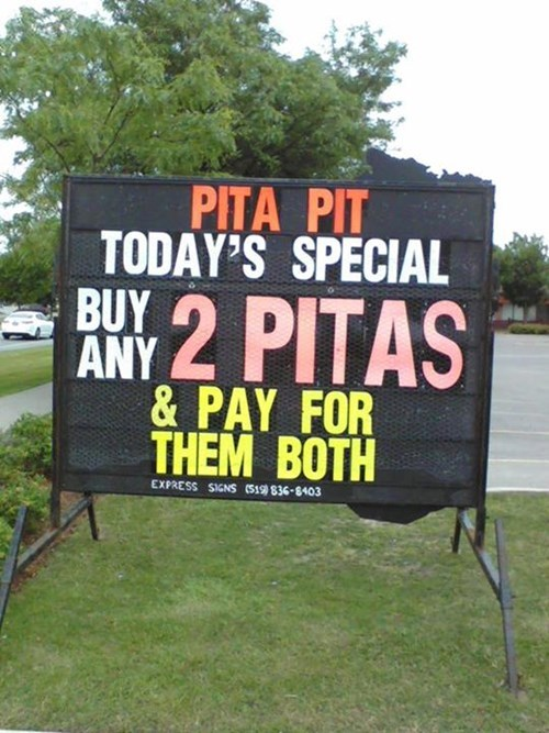 deals,sweet deals,pita pit