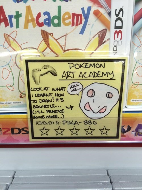art academy,3DS,Pokémon