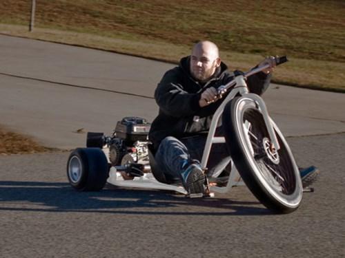 big wheel motorcycle trike childhood enhanced - 8258793728