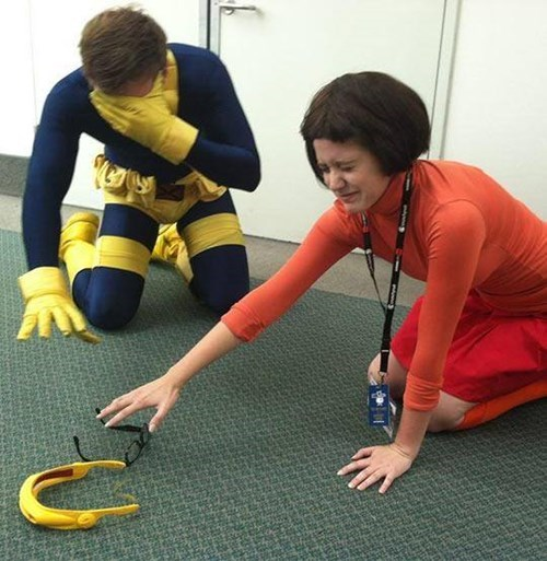 cosplay,glasses,funny,scooby doo,xmen