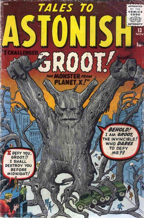guardians of the galaxy Straight off the Page groot - 8258948864