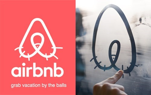 Font - airbnb grab vacation by the balls