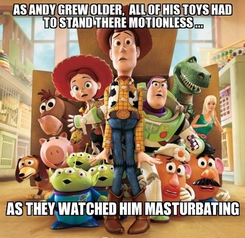 toy story childhood ruined - 8259520768