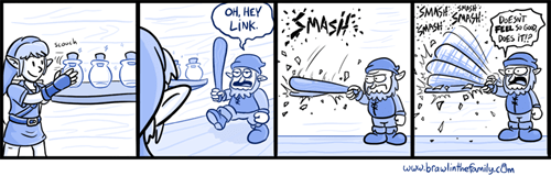 brawl in the family,web comics