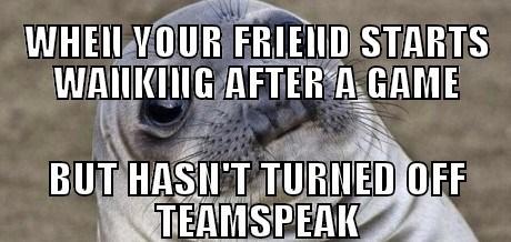Awkward,advice animals,Memes,teamspeak