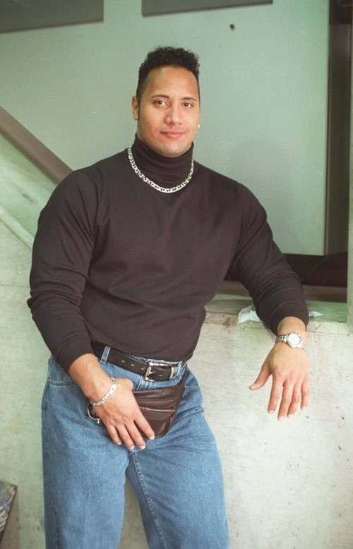Dwayne Johnson poorly dressed celeb the rock funny g rated - 8259578880