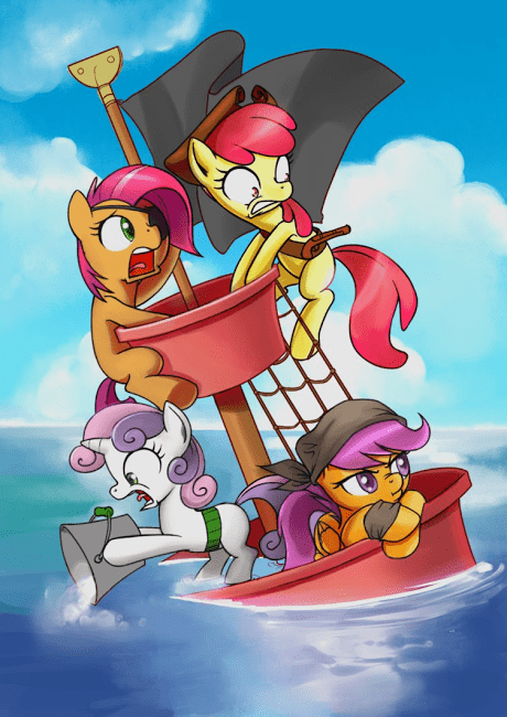 cutie mark crusaders Fan Art ship - 8259593728