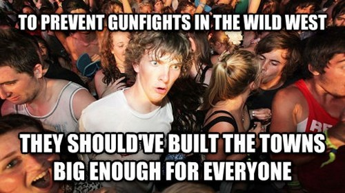 wild west,sudden clarity clarence