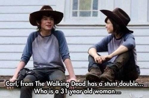 stunt double The Walking Dead - 8259669248