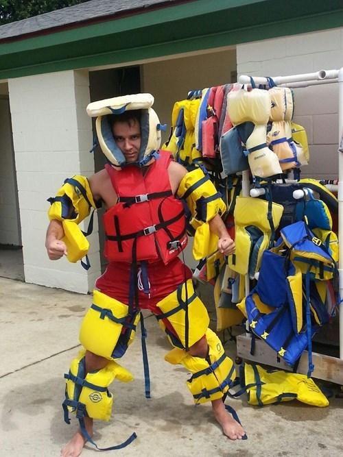 flotation device poorly dressed life vest - 8259675136