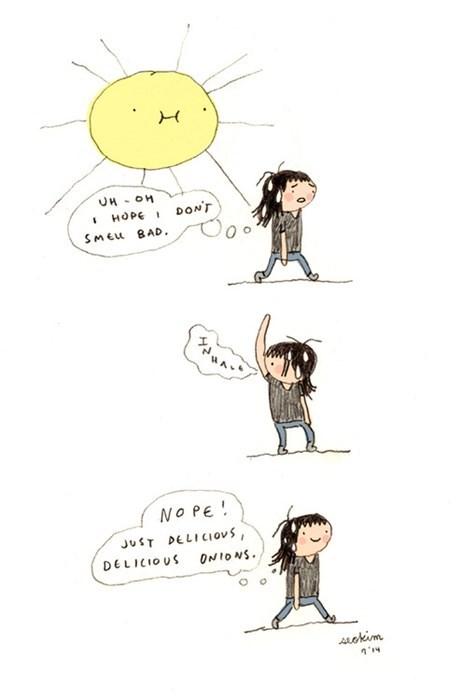 body odor odor sun web comics - 8259691264