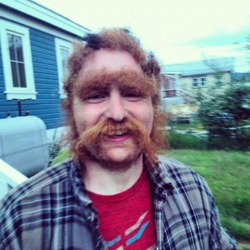 facial hair hair poorly dressed - 8259710720