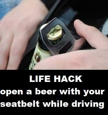 beer bottle opener funny life hacks - 8259710976