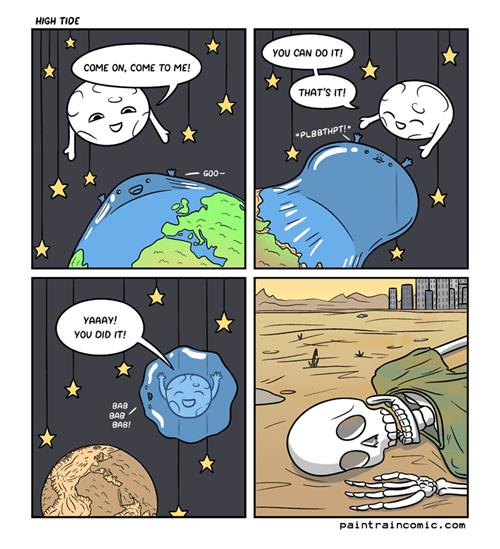 moon tides sad but true water web comics - 8259715072
