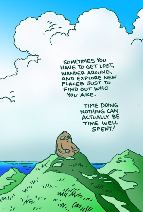 sloths,time,web comics
