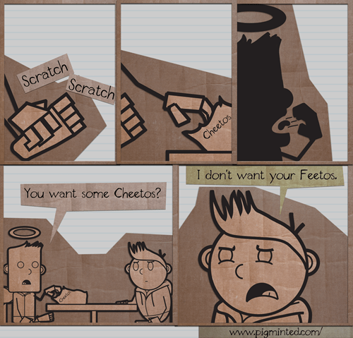 disgusting feet cheetos roommates web comics