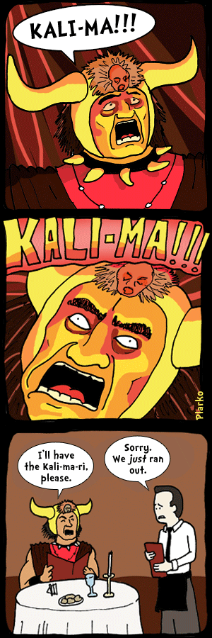 Indiana Jones hearts puns web comics kali-ma