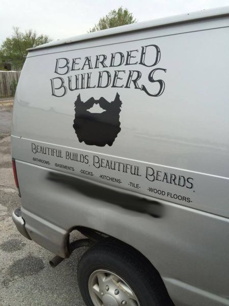 business name,beard,facial hair,monday thru friday,g rated