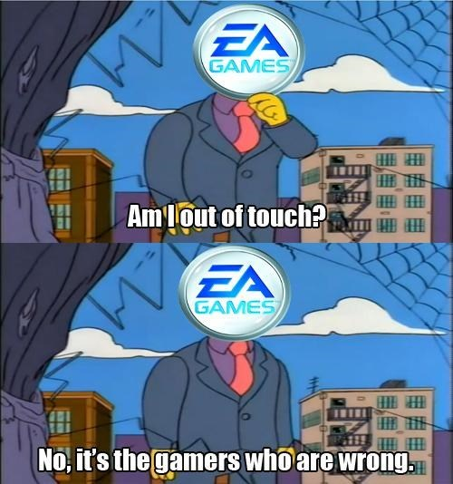 gamers,EA,the simpsons