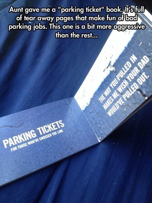 parking parking like a douche - 8259958528