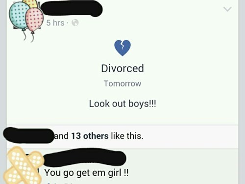 divorce,Overshare,TMI