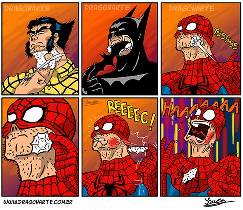shaving Spider-Man web comics - 8260912128