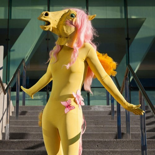 cosplay fluttershy beautiful - 8260959744