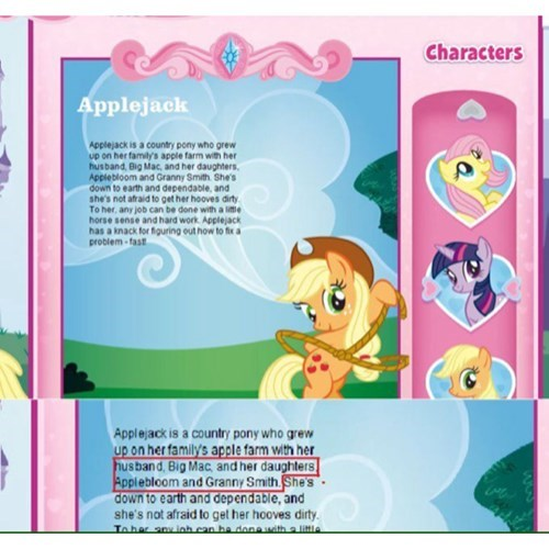 applejack Apple Family wat - 8260994560