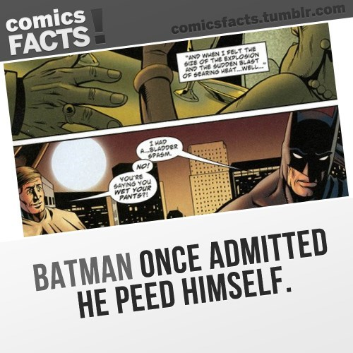 batman pee Straight off the Page - 8261732352